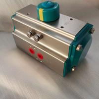 Quality AT Series 5021  green color rack and pinion pneumatic actuator control valve for sale