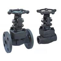 Quality Regular Port Forged Steel Gate Valve OS / Y Bolted Bonnet Long Service Life for sale