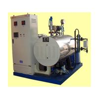 Quality Duct Type Electric Thermal Oil Heater Designed For Heating Medium With Vessel for sale