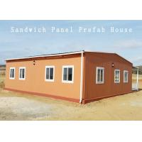 Buy cheap 70-80 M2 White Wall Panels Prefabricated Container House Apartment Dormitory from wholesalers