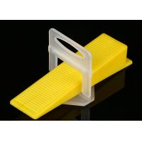 China Tile Accessories Tile Spacer Leveling System Floor Tile Leveling Spacer Clips Tools on sale