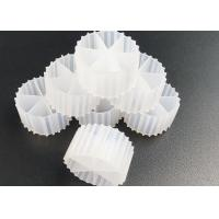 Quality 100% Virgin HDPE Bio Filter Media White Color For Waste Water Treatment for sale