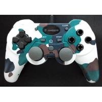China Digital / Analog Dual Vibration PC Joystick Controller With Turbo Fire Button on sale