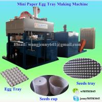 China 2017 CE fully automatic paper pulp egg carton tray making machine on sale