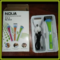 Quality NHC-2013 Electric Nose Hair Trimmer 3 in 1 Model Family Clipper Kit NOVA for sale