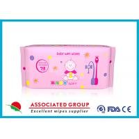 Buy cheap Multi Pack Baby Wet Wipes For Face , Reusable Wet Wipe Tissues from Wholesalers