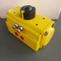 Quality aluminum alloy single effect and double acting pneumatic actuator for sale