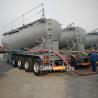 Buy cheap Bulk cement trailer fly ash trailer land plaster tank trailer | CIMC TRAILERS from wholesalers