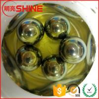 Quality MingLiang Steel Ball Factory Produces Hardened 10mm Carbon Steel Ball With Chrome Plated for sale