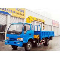 Quality 5 Ton Truck Mounted Telescopic Boom Crane  , 2120kg Truck Mounted Crane for sale