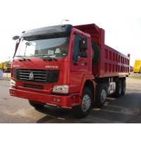 Quality HOWO 8*4-380HP-22cbm-Dump tipper truck-CNG power for sale