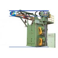 Quality Double Hooks Steel Shot Blasting Machine Good Cleaning Efficiency For Mass Production for sale