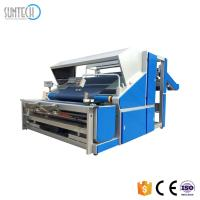 China SUNTECH Popular Automatic Knitted Cloth Fabric Inspecting Measuring Machine Knitted Fabric Inspection Machine and Length on sale