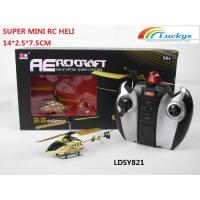Quality 14CM Super mini RC helicopter!3.5CH Alloy RC heli with Gyro,3D Mini RC heli for sale
