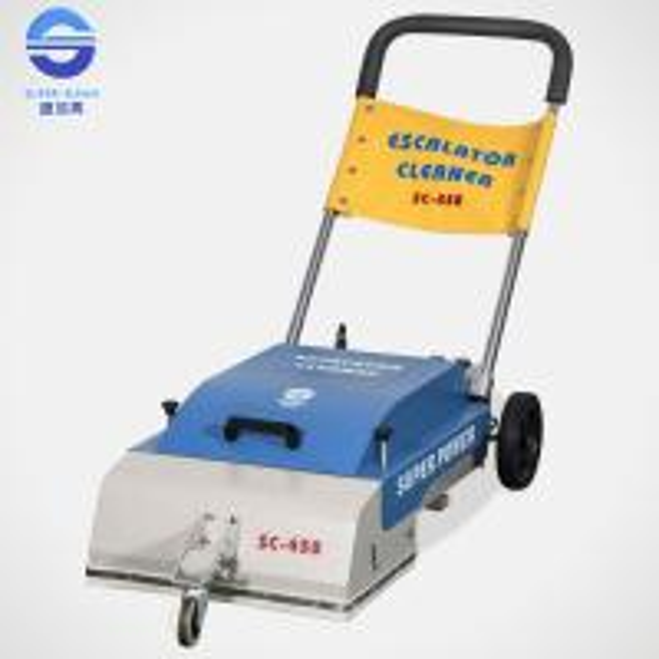 escalator cleaner machine