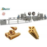 Buy cheap Custom Designed Pet Treat Machine Extruded Dog Chewing Food Processing from wholesalers