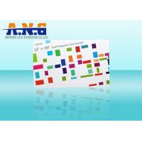 Quality 13.56mhz Customized Size Smart RFID Card Contactless RFID Card Programmable for sale