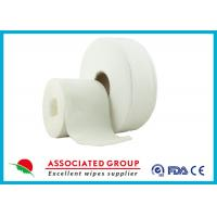 Quality Cross Lapping Spunlace Non Woven Roll for sale