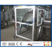 Quality ISO Electric Butter Maker Butter Making Equipment With Bottle Packing Machine for sale