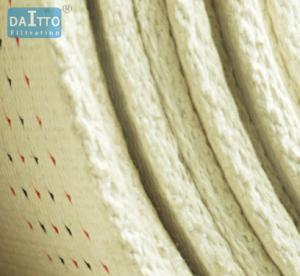 Slat Conveyor Belt Filter Cloth Material , Micron Filter Cloth For Food Equipment