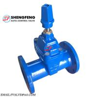 Quality DIN DN100 Non rising Stem EPDM disc ductile iron F5 Gate Valve for sale