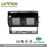 Quality bulk cheap rear view car camera double lens backup camera for truck for sale