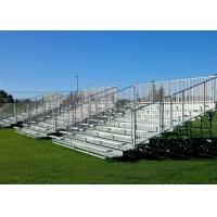 Simple Assembly Aluminum Grandstands with Anodized Aluminum Seat Planks