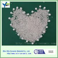 Quality White silicated zirconium grinding ball mill grinding media with good quality for sale