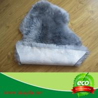 Quality 100% real natural wholeskin sheepskin rugs sheep fur rugs made in China for sale