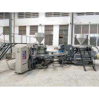 Quality Football Shoes Sole Injection Moulding Machine, Shoe Sole Making Machine 150-180 Pairs / Hour for sale