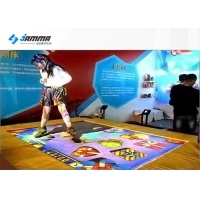 Quality 1.85x2.5m Trampoline Interactive Projector Games For Kids for sale