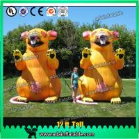 Quality 3m Advertising Inflatable Mouse Oxford Event Inflatable Rat Cartoon For Parade for sale