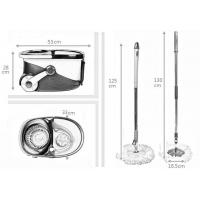 Buy KXY-PC Deluxe 360 spin mop with wheels at wholesale prices
