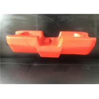 Quality HDPE Temporary Fence Post Base , Temporary Fencing Blocks 600 X 228 X 150mm for sale