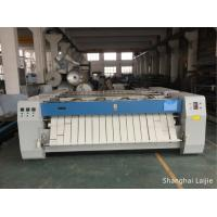 Quality Electric Heating Laundry Flatwork Ironer , Bed Sheets Commercial Roller Ironing Machine for sale