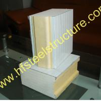 Quality 50mm Polyurethane Sandwich Panel For Green And Easy Construction Prefab House for sale