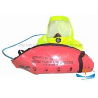 Quality Carbon Fiber Yellow Emergency Escape Breathing Device With Carbon Cylinder for sale