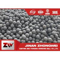 Quality Chile Copper Mining Forged Grinding Ball  High Hardness Grinding Media Balls for sale