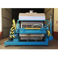 China 220V 380V Pulp Egg Tray Moulding Machine Processing Type Energy Saving on sale