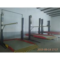 China Simple Car Parking Lift 2.5ton Two Post Hydraulic Car Lift Parking for Residential Garage on sale