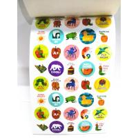 China Bepoke Tiny Sticker Book Printing Service Childrens Studying Learning on sale