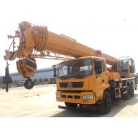 Quality Durable Heavy Construction Machinery 25T Truck Mounted Jib Crane With Telescopic Boom for sale