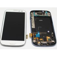 China Samsung galaxy S3 i9300 LCD Touch Screen with Digitizer frame Assembly on sale