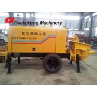Quality Mobile Concrete Pump And Mixer With Electric Motor Concrete Pump 2000kg Total weight for sale