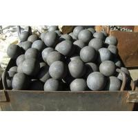 Quality Not Broken ZQ C45, 60Mn, B2, B3 material Forged steel Ball Dia 20 - 150mm for sale