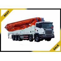 Quality Factory Price 24m Meter Mounted Concrete Boom Pump Truck 132/140 W CE ISO for sale