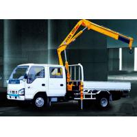 Buy cheap Durable Commercial Knuckle Boom Truck Mounted Crane , 3200kg 6.72 T.M Lifting from wholesalers