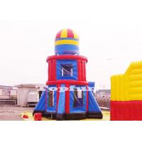 Quality Customize 10m Tall Rocket Inflatable Jumping Castle Bouncer Tower Outdoor Play for sale