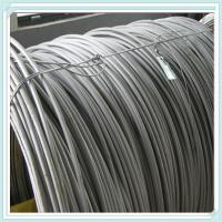 China SAE 1008B 5.5 mm steel ms wire rod coil on sale