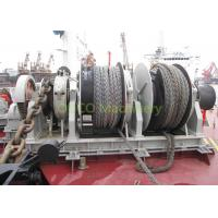 Quality Port Vessel Anchor Mooring Winch Easy Maintenance High Durability Running Smoothly for sale